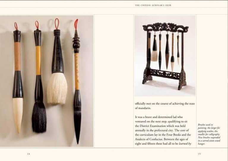 Chinese bamboo brushes for Painting and Calligraphy