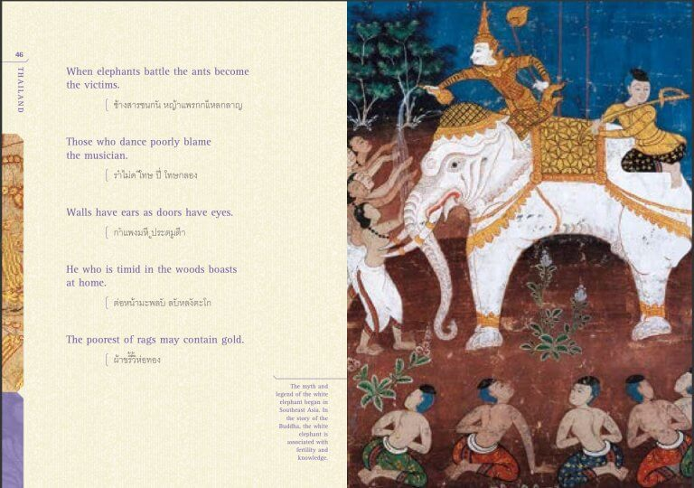Myths and legends of white elephant in Southeast Asia