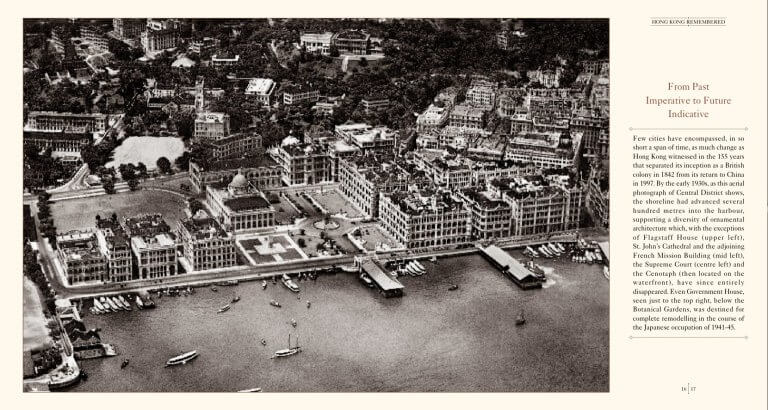 HK Central District aerial photo 1930s
