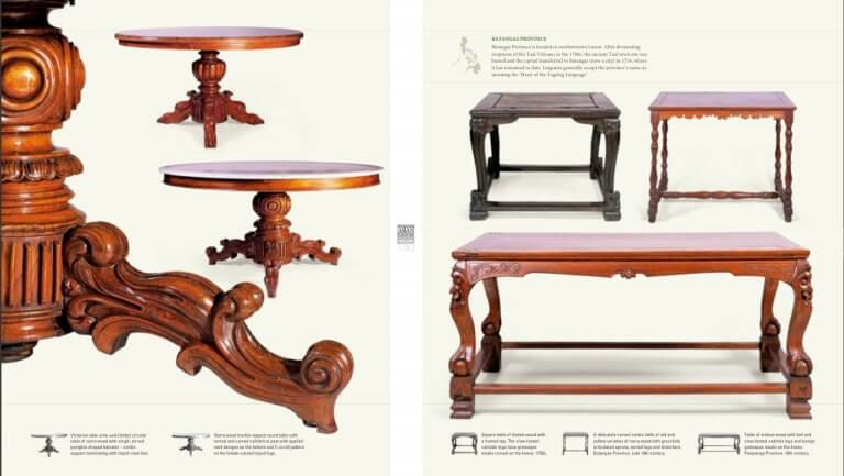 Philippines Narra wood table
